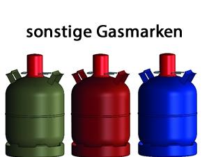 Sonstige Gasmarken